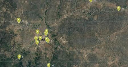 Mapa Fuentes en las inmediaciones