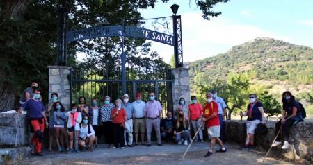 Visita Fuente Santa 13.09.2020