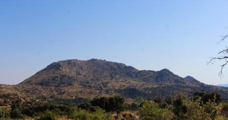 Vistas del Berrueco desde Peñaflor